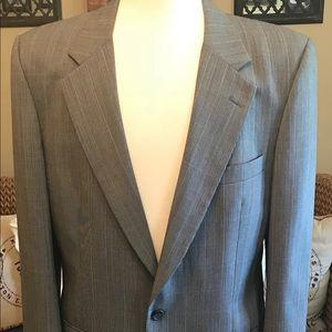 Nice! Burberry Vintage Men's Light Gray Blazer